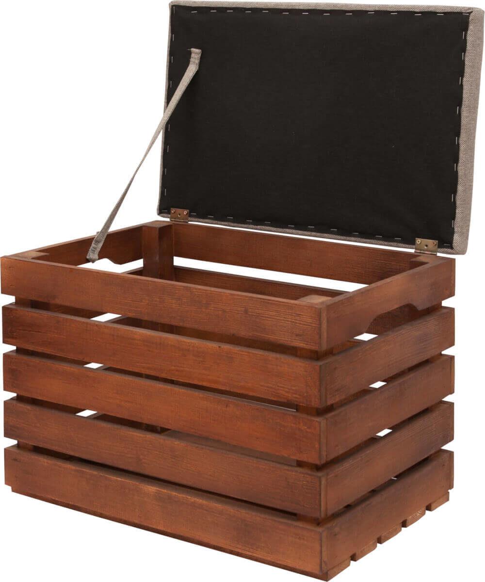pomysł na prezent weselny - drewniana skrzynka