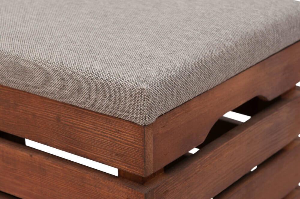 jakość wykonania - drewniana skrzynka
