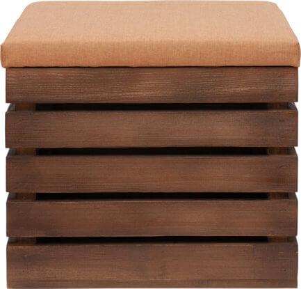 aranżacje wnętrz drewniane skrzynki bejcowane