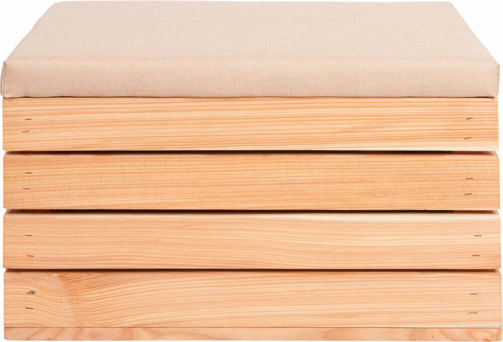 wysokiej jakości skrzynka drewniana modrzew
