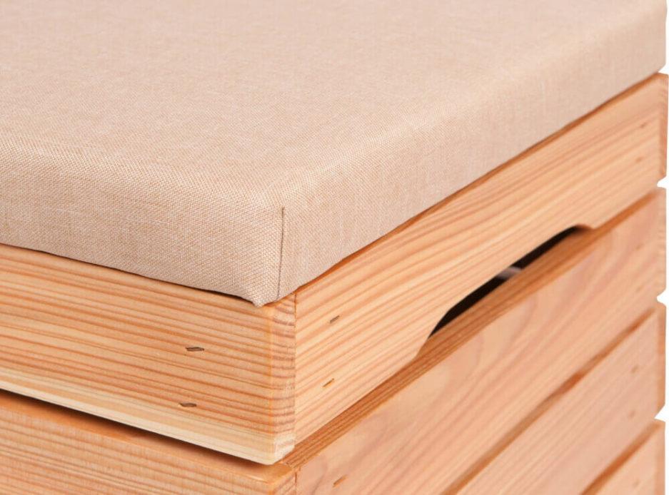 modrzew skrzynka drewniana wyposażenie domu