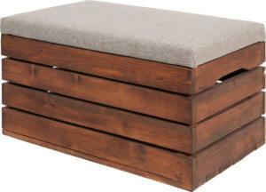 duże możliwość aranżacji skrzynki drewnianej
